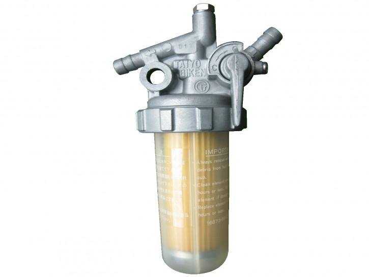 Kraftstofffilter mit Kraftstoffhahn