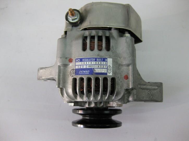 Lichtmaschine Denso 16678-64012  100211-4730   12V 40A   B-Ware