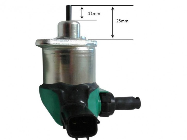 Stopmagnet für Kubota Solenoid Abschaltventil Magnetschalter Absteller 2-polig